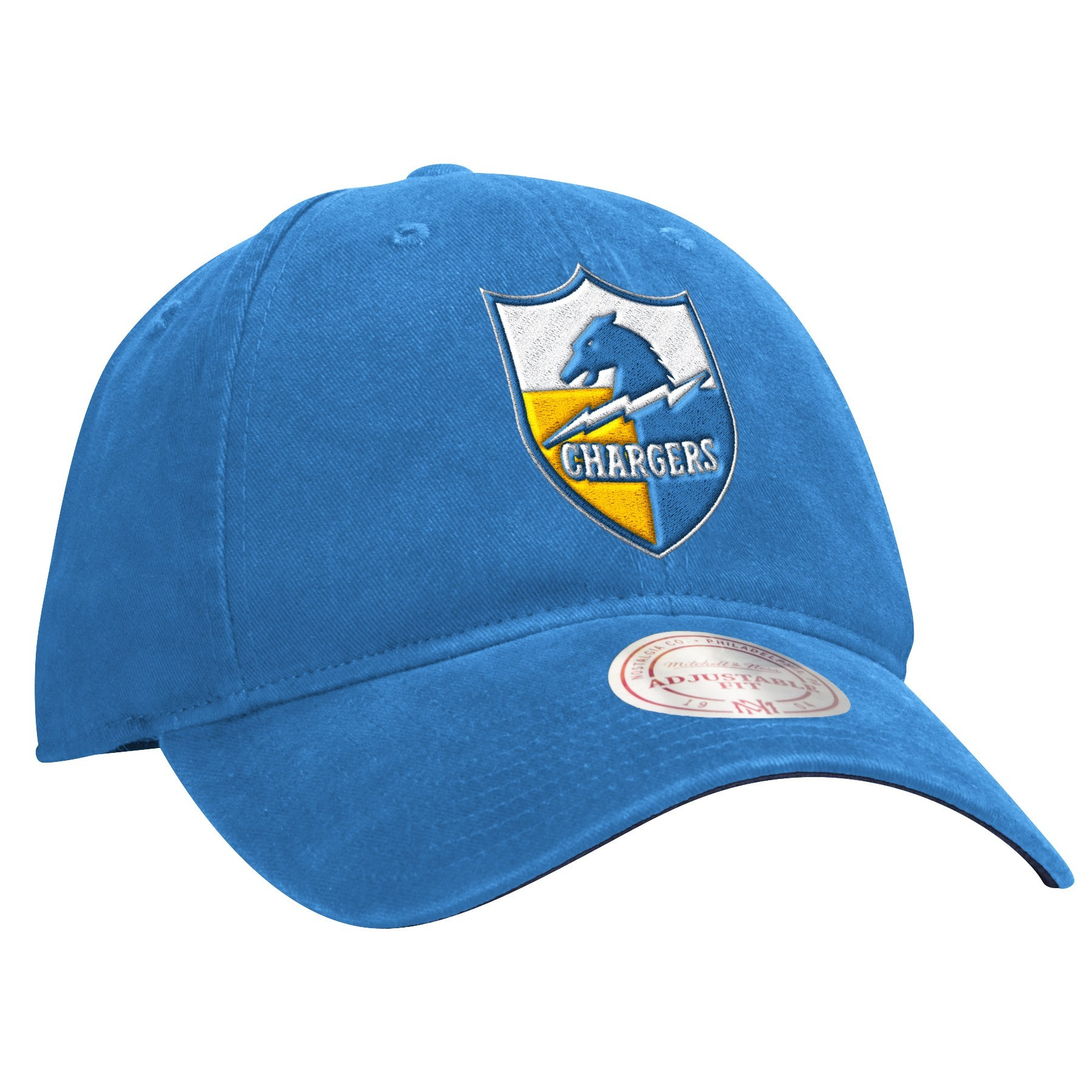 San Diego Chargers Caps: San Diego Chargers Mitchell & Ness NFL Throwback Felt Logo