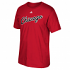 "Chicago Bulls Adidas NBA Hardwood Classic ""Wordmark"" Men's Short Sleeve T-Shirt"