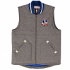 "New England Patriots Mitchell & Ness NFL ""Victory"" Premium Throwback Vest Jacket"