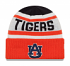 "Auburn Tigers New Era NCAA ""Biggest Fan 2.0"" Cuffed Knit Hat"
