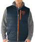 """Chicago Bears G-III NFL """"Double Track"""" Systems 3-in-1 Premium Vest Jacket"""