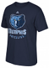 "Memphis Grizzlies Adidas NBA ""Cut The Net"" Premium Print S/S Men's T-Shirt"