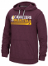 "Cleveland Cavaliers Adidas NBA ""Icon Status"" Men's Climawarm Hooded Sweatshirt"