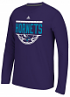 "Charlotte Hornets Adidas NBA ""Balled Out"" Climalite Performance L/S Shirt"