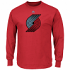"Portland Trail Blazers Majestic NBA ""Supreme Logo"" Men's Long Sleeve T-Shirt"