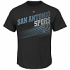 "San Antonio Spurs Majestic NBA ""Winning Tactic"" Men's Short Sleeve T-Shirt"
