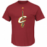 "Cleveland Cavaliers Majestic NBA ""Supreme Logo"" Men's S/S T-Shirt - Maroon"