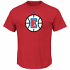 "Los Angeles Clippers Majestic NBA ""Supreme Logo"" Men's Short Sleeve T-Shirt"