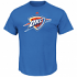 "Oklahoma City Thunder Majestic NBA ""Supreme Logo"" Men's Short Sleeve T-Shirt"