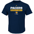 """Indiana Pacers Majestic NBA """"Proven Pastime"""" Short Sleeve Men's T-Shirt"""