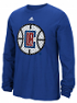 "Los Angeles Clippers Adidas NBA ""Tech Quilt"" Premium Print L/S Men's T-Shirt"