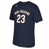 Anthony Davis New Orleans Pelicans Men's NBA Adidas Player Navy T-Shirt