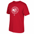 Atlanta Hawks Adidas NBA Men's Primary Logo Short Sleeve Red  T-Shirt
