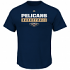 "New Orleans Pelicans Majestic NBA ""Proven Pastime"" Short Sleeve Men's T-Shirt"