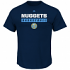 "Denver Nuggets Majestic NBA ""Proven Pastime"" Short Sleeve Men's T-Shirt"