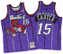 Vince Carter Toronto Raptors Mitchell & Ness Authentic 1998 Purple NBA Jersey