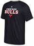 "Chicago Bulls Adidas NBA ""Meshing Around"" Climalite Performance S/S T-Shirt"