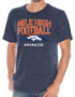 "Denver Broncos NFL G-III ""Team Slogan"" Men's Tri-blend Short Sleeve T-shirt"