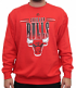 "Chicago Bulls Majestic NBA ""Legendary Play"" Men's Pullover Crew Sweatshirt"