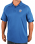 "Oklahoma City Thunder Majestic NBA ""Excitement"" Men's Synthetic Polo Shirt"