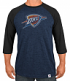 "Oklahoma City Thunder Majestic NBA ""Excellent Attitude"" Men's 3/4 Sleeve T-Shirt"