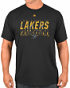 "Los Angeles Lakers Majestic NBA ""Fight Till The End"" Short Sleeve Men's T-Shirt"