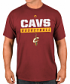 "Cleveland Cavaliers Majestic NBA ""Proven Pastime 2"" Short Sleeve Men's T-Shirt"