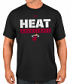 "Miami Heat Majestic NBA ""Proven Pastime 2"" Short Sleeve Men's T-Shirt"