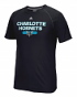 "Charlotte Hornets Adidas NBA ""Reflective Authentic"" Men's Climalite S/S T-Shirt"