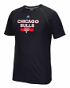 "Chicago Bulls Adidas NBA ""Reflective Authentic"" Men's Climalite S/S T-Shirt"