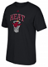 "Miami Heat Adidas NBA ""Bank Shot"" Men's Short Sleeve T-Shirt"