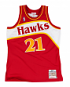 Dominique Wilkins Atlanta Hawks Mitchell & Ness Authentic 1986 Red NBA Jersey