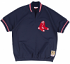 Boston Red Sox Mitchell & Ness MLB Authentic 1/4 Zip 1988 Warm-Up Jacket