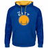 "Golden State Warriors Majestic NBA ""Armor 2"" Pullover Hooded Sweatshirt - Blue"