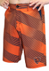 "Chicago Bears NFL ""Diagonal Striped"" Men's Casual Polyester Walking Shorts"