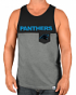 "Carolina Panthers Majestic NFL ""Throw the Towel"" Men's Pocket Tank Top Shirt"