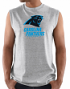 "Carolina Panthers Majestic NFL ""Critical Victory 3"" Men's Sleeveless T-shirt"