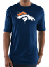"Denver Broncos Majestic NFL ""Logo Tech"" Men's S/S Performance Shirt"