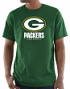 "Green Bay Packers Majestic NFL ""Critical Victory 3"" Men's S/S T-Shirt - Green"