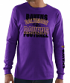 Baltimore Ravens Majestic NFL Primary Receiver 3 Men's Long Sleeve T-Shirt
