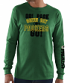 Green Bay Packers Majestic NFL Primary Receiver 3 Men's Long Sleeve T-Shirt