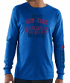 New York Giants Majestic NFL Primary Receiver 3 Men's Long Sleeve T-Shirt