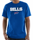 "Buffalo Bills Majestic NFL ""Pick Six"" Men's Short Sleeve T-Shirt - Blue"