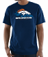 "Denver Broncos Majestic NFL ""Pick Six"" Men's Short Sleeve T-Shirt - Navy"