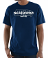 "Seattle Seahawks Majestic NFL ""Pick Six"" Men's Short Sleeve T-Shirt - Navy"