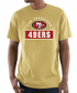 "San Francisco 49ers Majestic NFL ""Maximized"" Men's Short Sleeve T-Shirt"