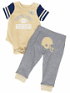 "Georgia Tech Yellowjackets NCAA Infant ""Lil' Champ"" Bodysuit & Pant Outfit Set"