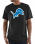 "Detroit Lions Majestic NFL ""Primetime"" Men's Short Sleeve Black T-Shirt"