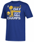 "Golden State Warriors 2017 NBA Champions Adidas ""Bay Day"" Men's T-Shirt"