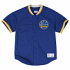 "Golden State Warriors Mitchell & Ness ""Bridge Logo"" Men's Blue Jersey Shirt"